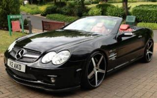 Boxing legend's Mercedes SL up for sale