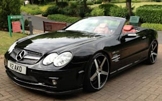 ​Boxing legend's Mercedes SL up for sale