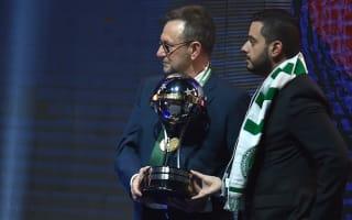 Chapecoense receive Copa Sudamericana trophy