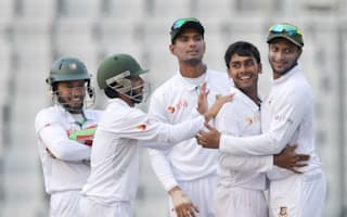 Mehedi magnificent as Bangladesh earn series draw with famous win