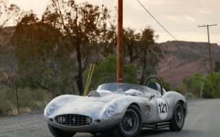 Man builds childhood dream in the form of Ferrari 250 Testa Rossa