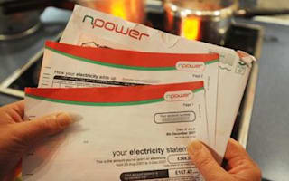 Energy bills spiral out of control