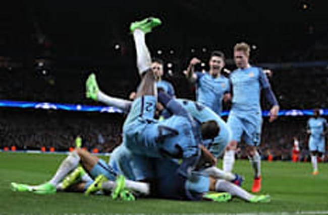 Man City 5-3 Monaco: Eight goals in Champions League classic