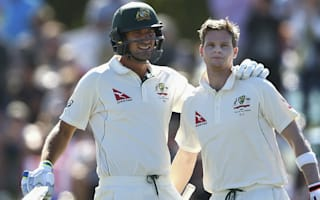 Smith, Burns combine for Australia on day two
