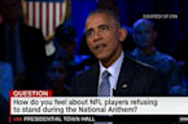 Obama Comments on National Anthem Protests