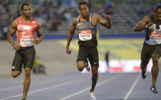 Blake completes sprint double at trials