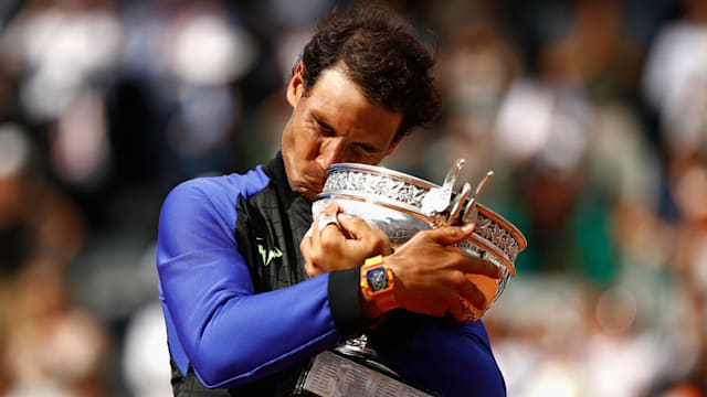 Dominant Nadal wins record 10th french open