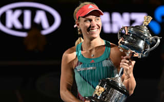 Kerber unsure of Australia Open trophy location