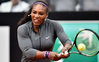 Williams overcomes wobble while Muguruza breezes through