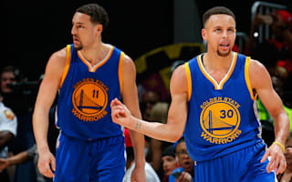 Curry, Thompson lead Warriors as Cavs seal play-off spot