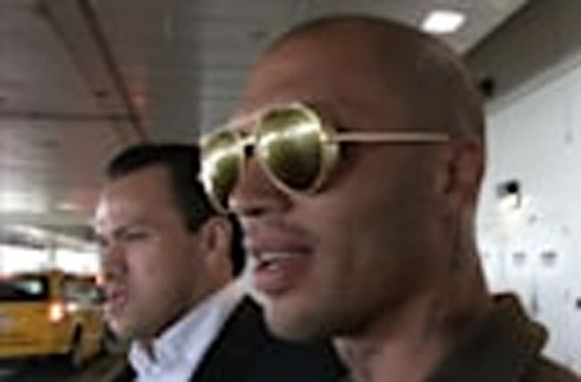 MODEL JEREMY MEEKS I'D GO BACK TO UK ... If They'd Have Me