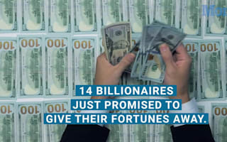 14 billionaires giving fortunes away