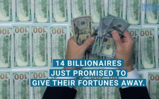 14 billionaires giving fortunes away