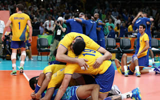 Rio 2016: Dominant Brazil take volleyball gold
