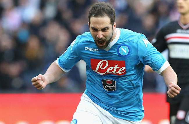 Juventus v Napoli: Higuain confident he can handle pressure