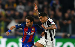 Juventus must try to score against Barcelona at Camp Nou, insists Dani Alves