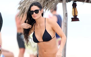 Demi Moore relaxes in Mexico with new toyboy and daughter Rumer