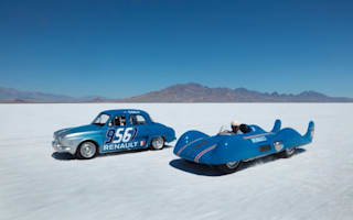 Record-breaking Renault returns to Bonneville Salt Flats