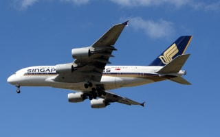 Singapore airline makes emergency landing after it 'just fell from sky'