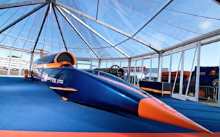 Public debut for land-speed record challenger