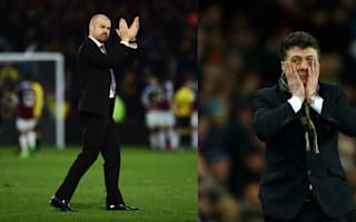 Dyche proud in defeat, Mazzarri angry in victory