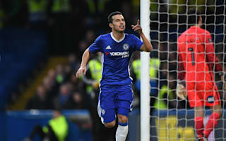 Chelsea 4 Peterborough United 1: Pedro at the double as Terry sees red in routine win