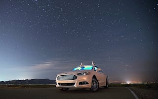 Ford's self-driving cars navigate roads in total darkness