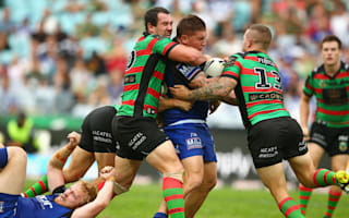 Souths upset Bulldogs to end NRL season on a high