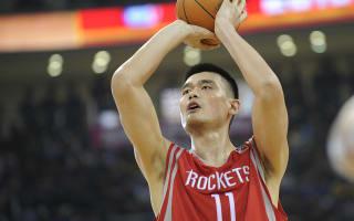 Rockets retire Yao Ming's jersey