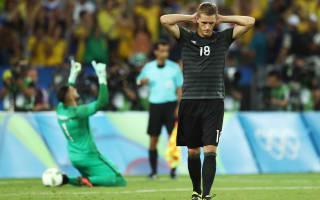 Rio 2016: Hrubesch unwilling to blame Petersen