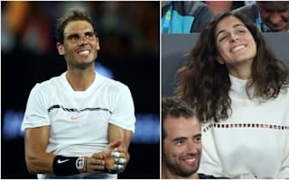 Nadal jokes girlfriend needed Australian Open 'wildcard'