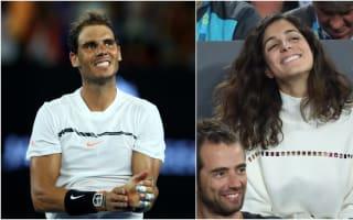 Nadal jokes girlfriend needed Australian Open 'wildcard'