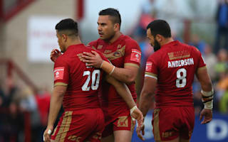 Super League Review: Dragons slay Giants to go second