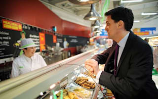 Miliband under-estimates food bill