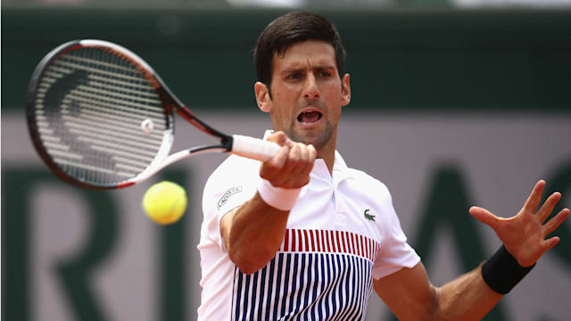 Djokovic takes five against Schwartzman