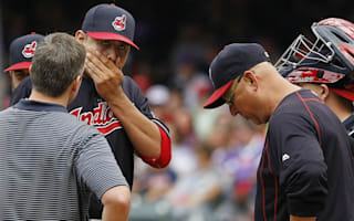 Indians ace Carrasco done for year