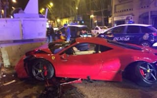 Ferrari driver flees crash scene because he 'couldn't bear to see dream car smashed up'