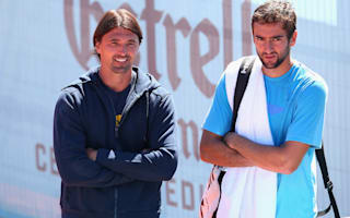 Cilic splits with Ivanisevic