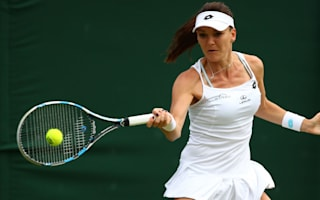 Radwanska battles back from the brink as Konjuh cruelly injured