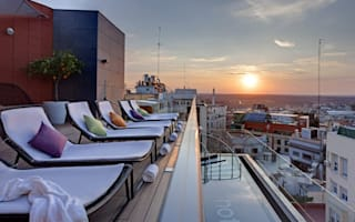 Best hotel rooftop bars in Europe