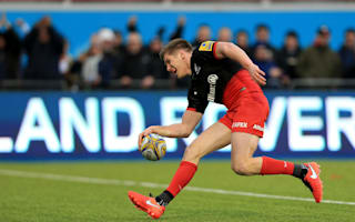 England stars inspire Saracens to top-of-the-table triumph
