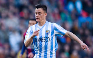 Malaga 1 Sporting Gijon 0: Juanpi's stunner secures home win