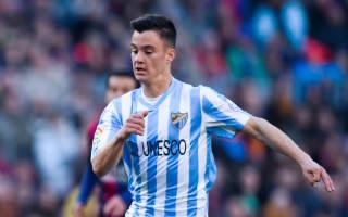 Malaga 1 Sporting Gijon 0: Juanpi's stunner secures home win
