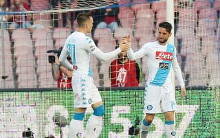 Napoli 3 Cagliari 1: Birthday boy Mertens sends hosts second