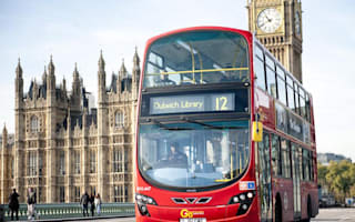 Bus use in England has dropped to lowest level in a decade