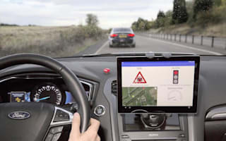 Ford testing technology to help drivers avoid red lights