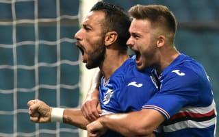 Sampdoria 1 Inter 0: Quagliarella leaves De Boer in the mire