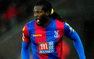 Crystal Palace v Watford: Pardew hopes Adebayor can turn season around