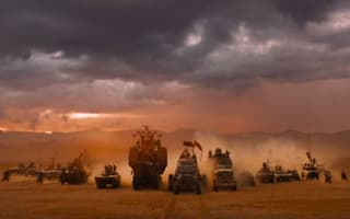Video: Take a sneak peek at the cars in Mad Max: Fury Road