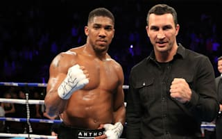 Klitschko fight comes at 'perfect time' for Joshua, says Haye